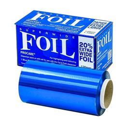 Superwide Blue Foil 100m x 120mm thumbnail
