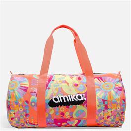 amika Signature Print Gym Bag  thumbnail