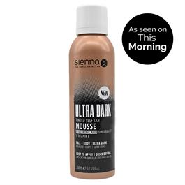 Sienna X Ultra Dark Tinted Mousse 200ml thumbnail