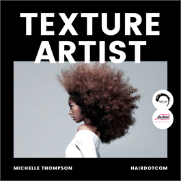Introduction to Afro & Textured Hair with The Hairdotcom Art Team thumbnail