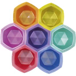 Elumen 7 Piece Colour Bowl Set  thumbnail