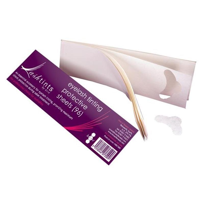 Protective Eye Lash Tinting Sheets Image 1
