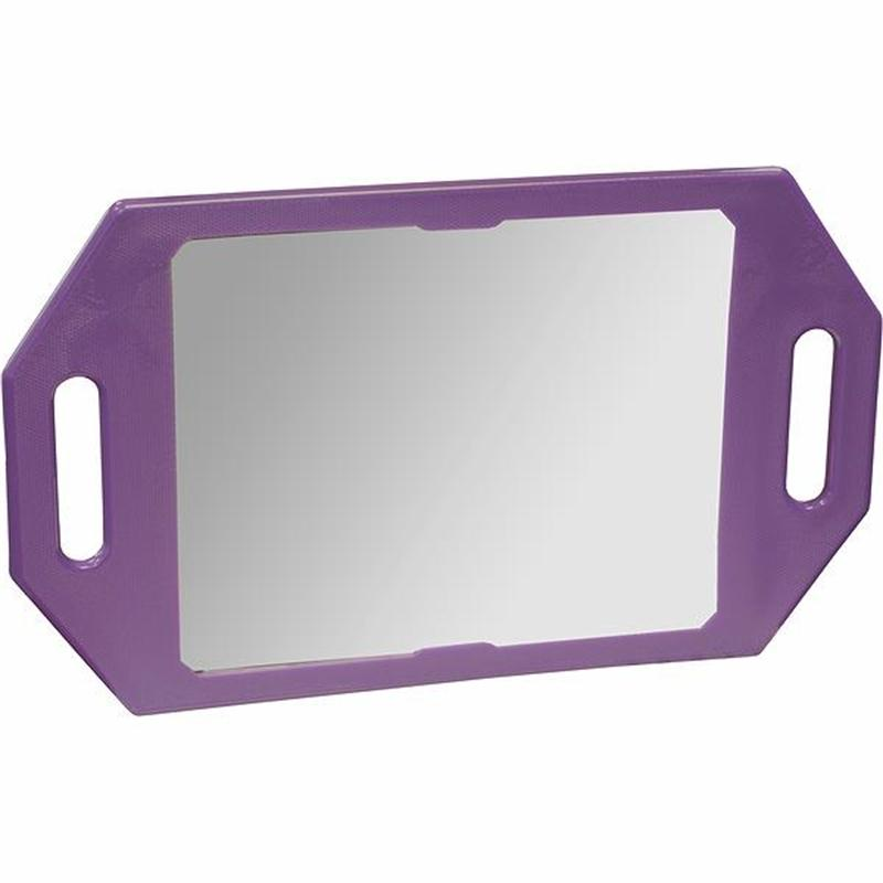 Two Handed Mirror Purple Image 1