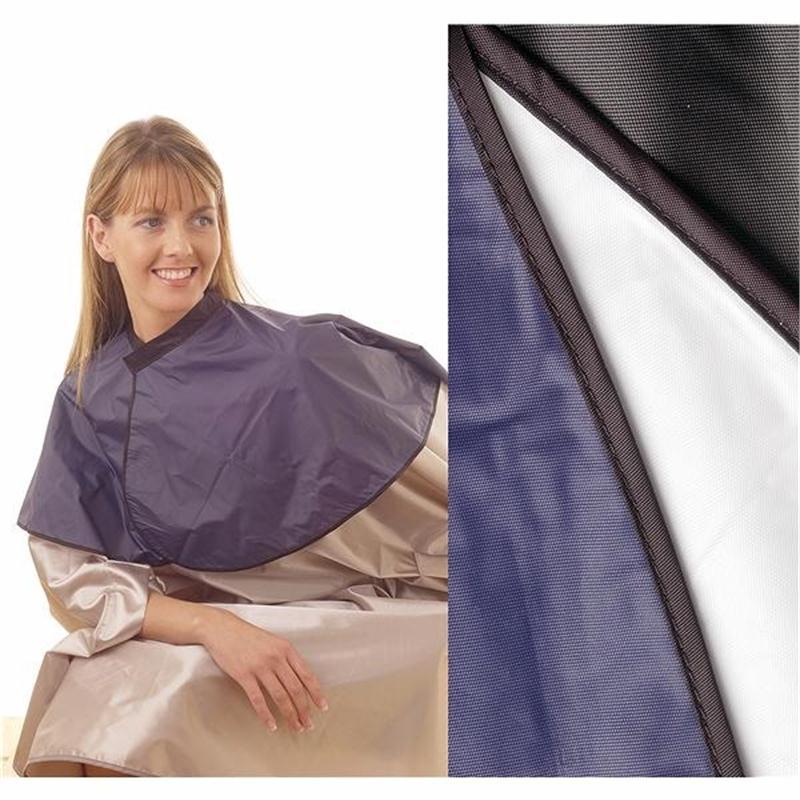 PVC Shoulder Cape Black Image 1