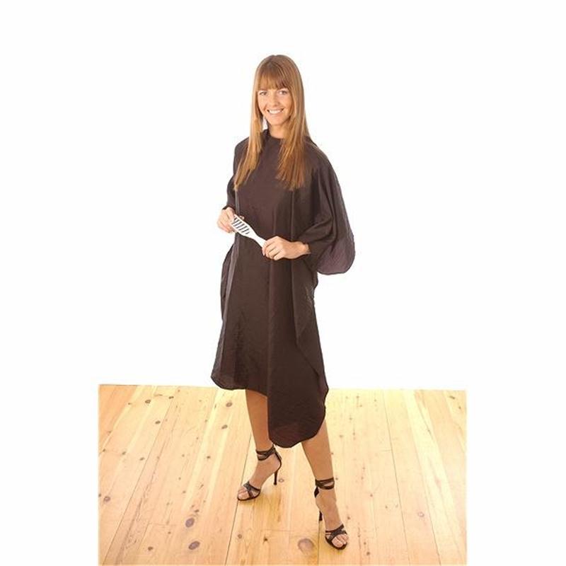 Black Nylon Economy Gown Image 1