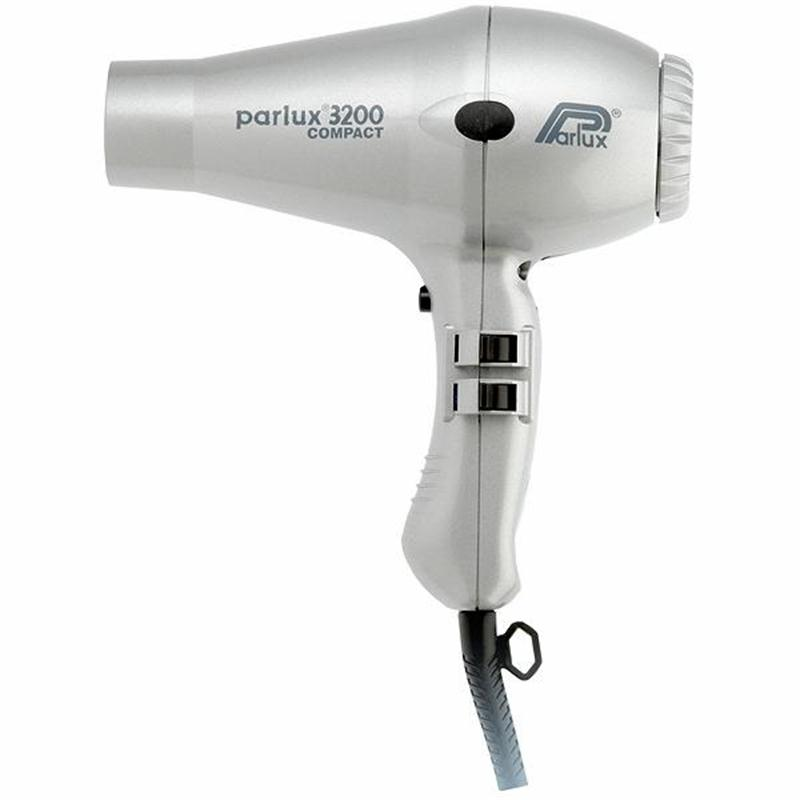 Parlux 3200 Compact Dryer Silver Image 1