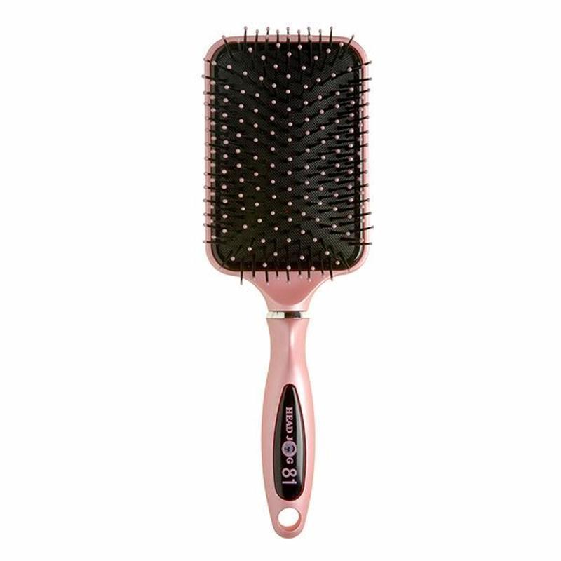 Head Jog 81 Pink Paddle Brush  Image 1
