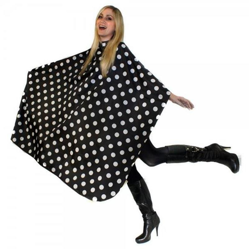 Polka Dot Gown with Poppers Image 1