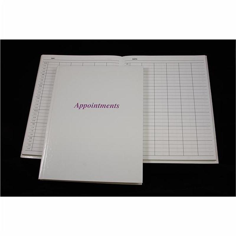 Appointment Book 6 Column - Grey  Image 1