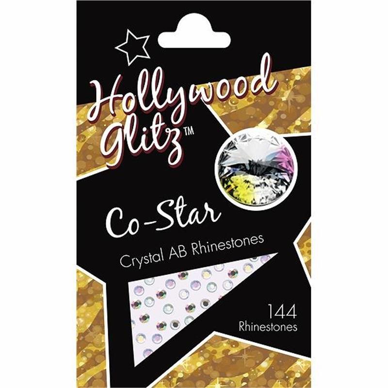 Co-Star Crystal AB Rhinestones Image 1