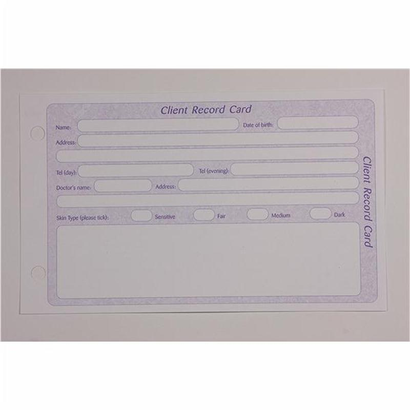 General Client Record Cards (Drilled) Image 1