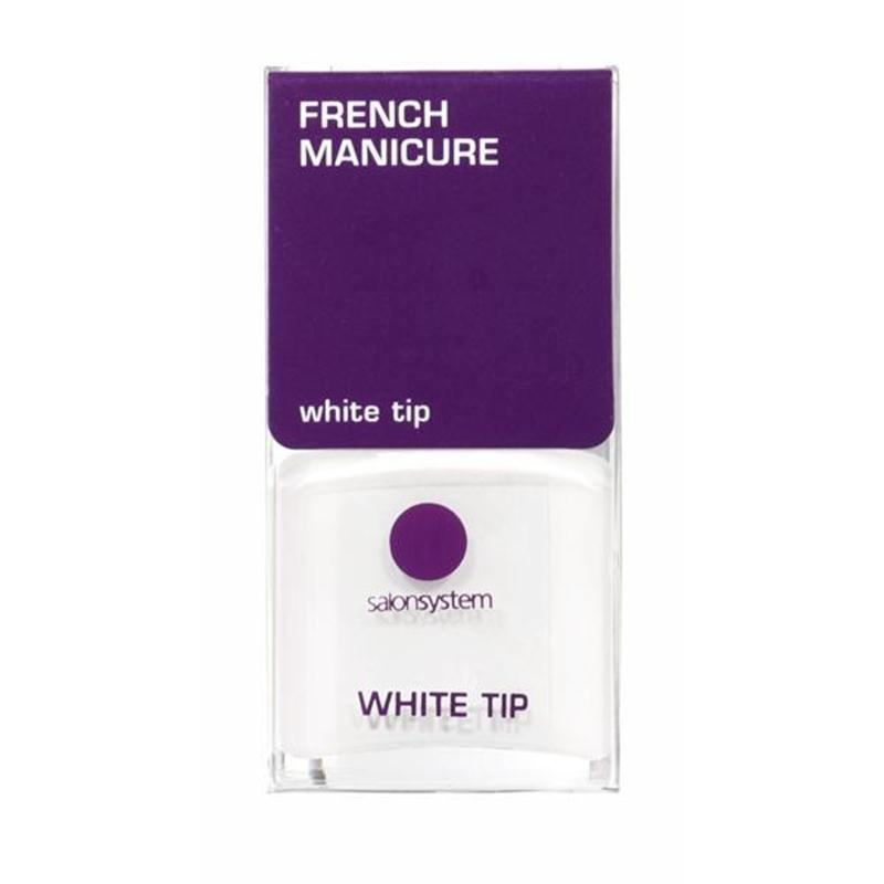 French Manicure White Tip Image 1