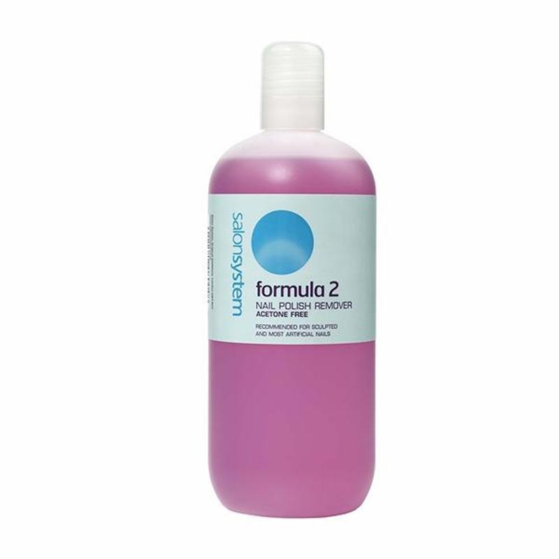 Formula 2 Nail Polish Remover 500ml Image 1