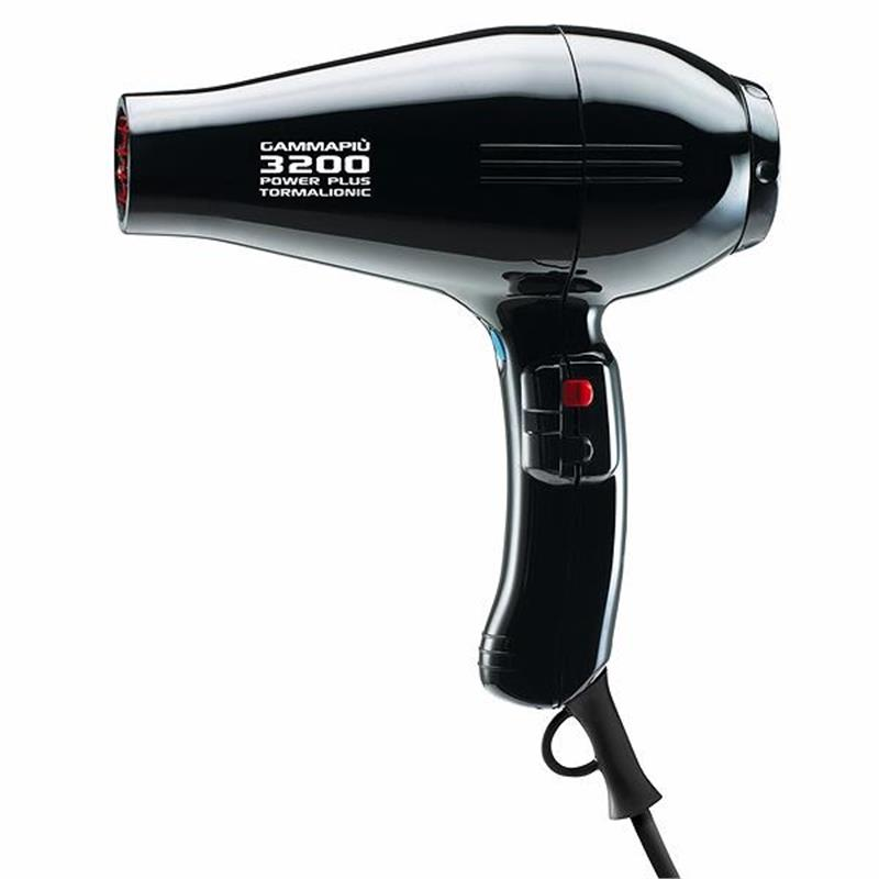 Gamma Piu 3200 Black Hair Dryer Image 1