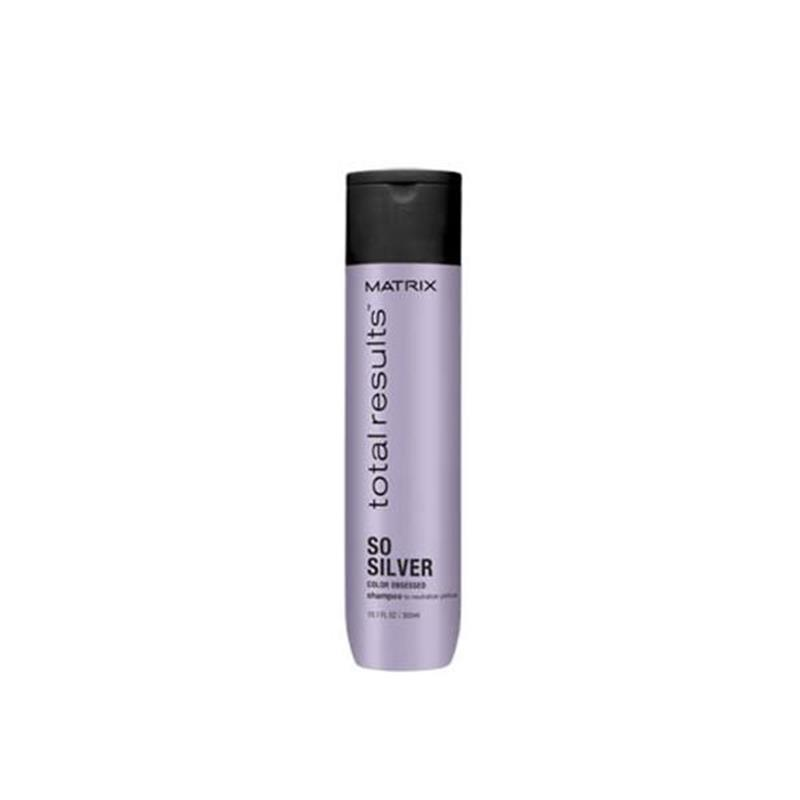 Total Results Color Obsessed So Silver Shampoo 300ml Image 1