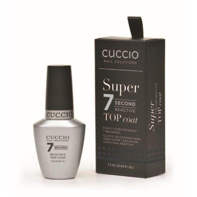 Cuccio 7 Second Reactive Top Coat 13m Image 1