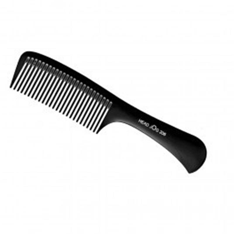 Head Jog 206 Black Shampoo Comb Image 1