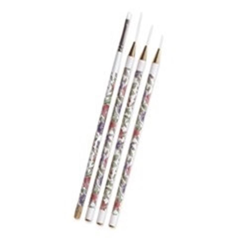 Cuccio Nail Art Brushes 4 Pk Image 1