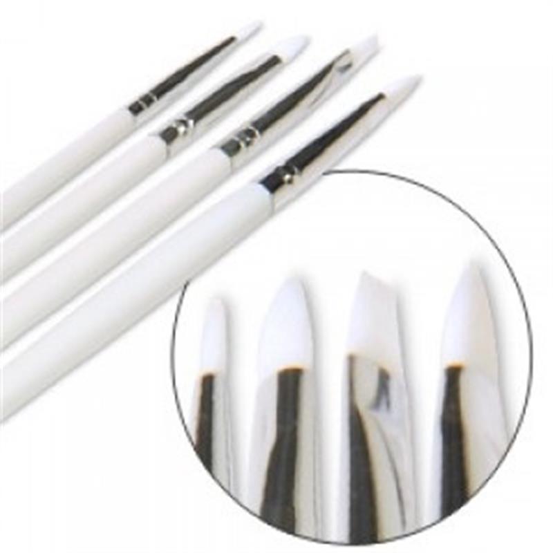 Cuccio Gel Brush 4 Pk Image 1