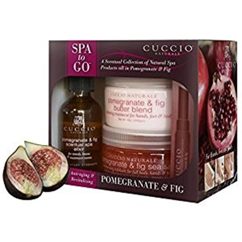 Pomegranate & Fig Spa to Go Kit Image 1