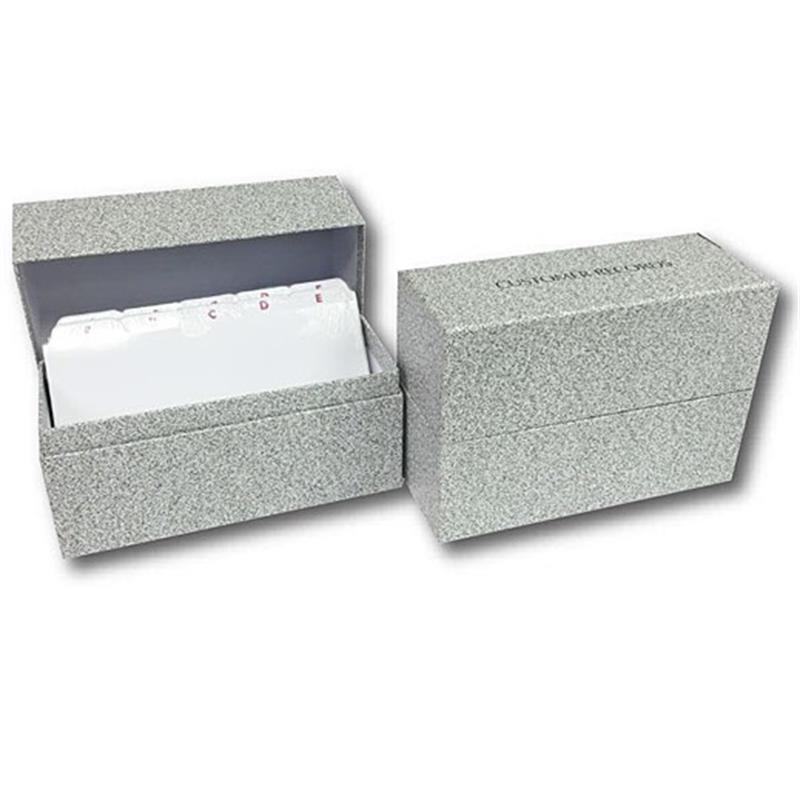 Record System - Box + Index Cards Thumbnail Image 0
