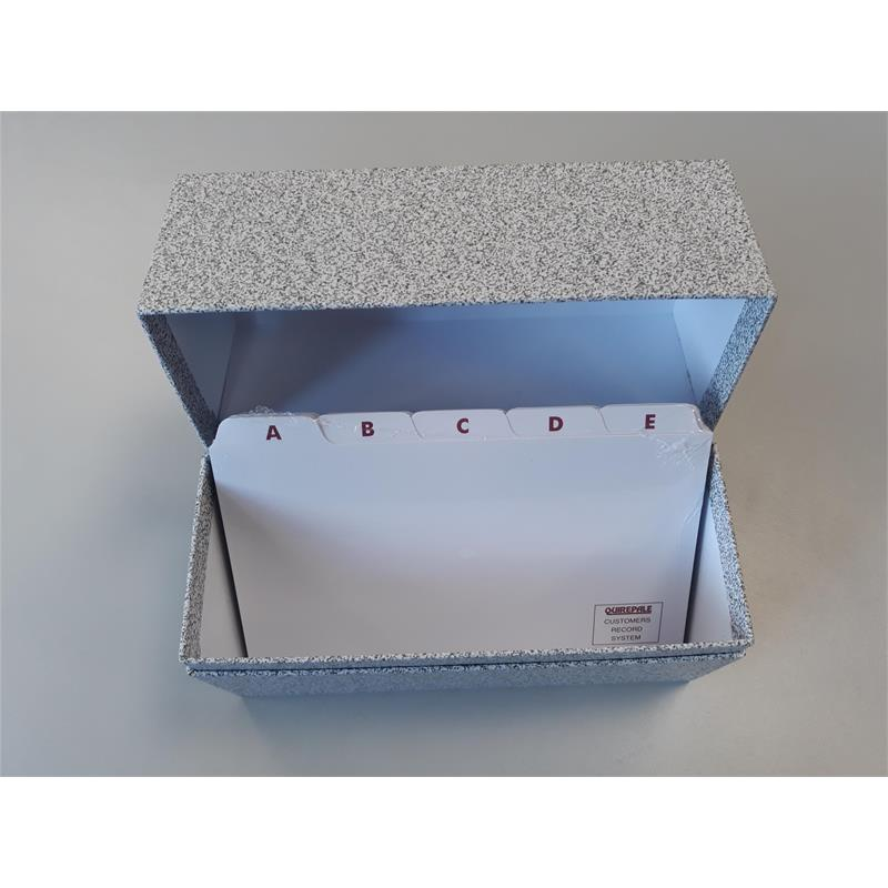 Record System - Box + Index Cards Thumbnail Image 1