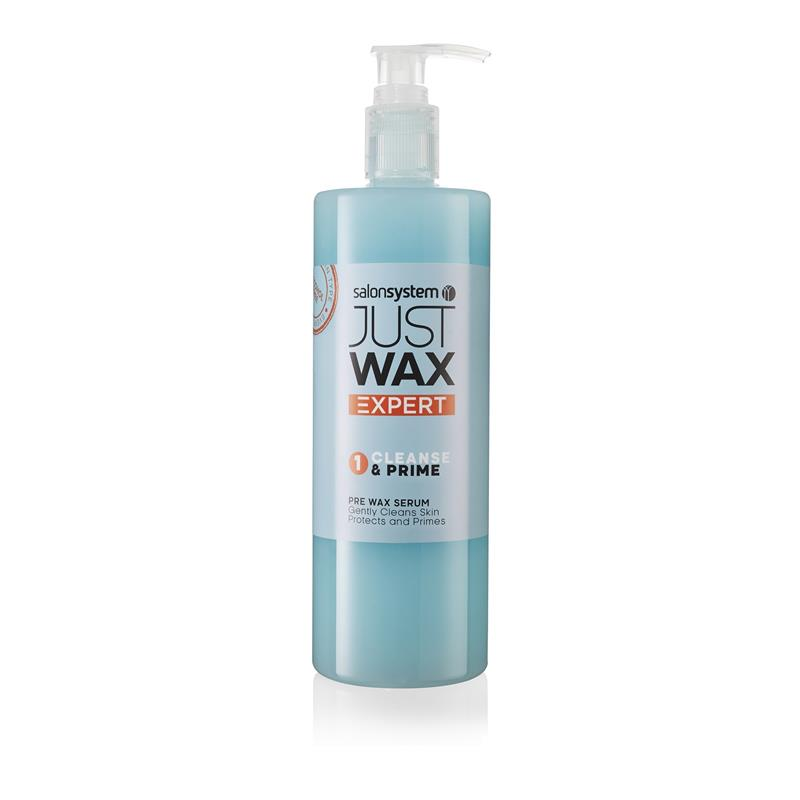 Just Wax Expert Cleanse  & Prime 500ml Thumbnail Image 0