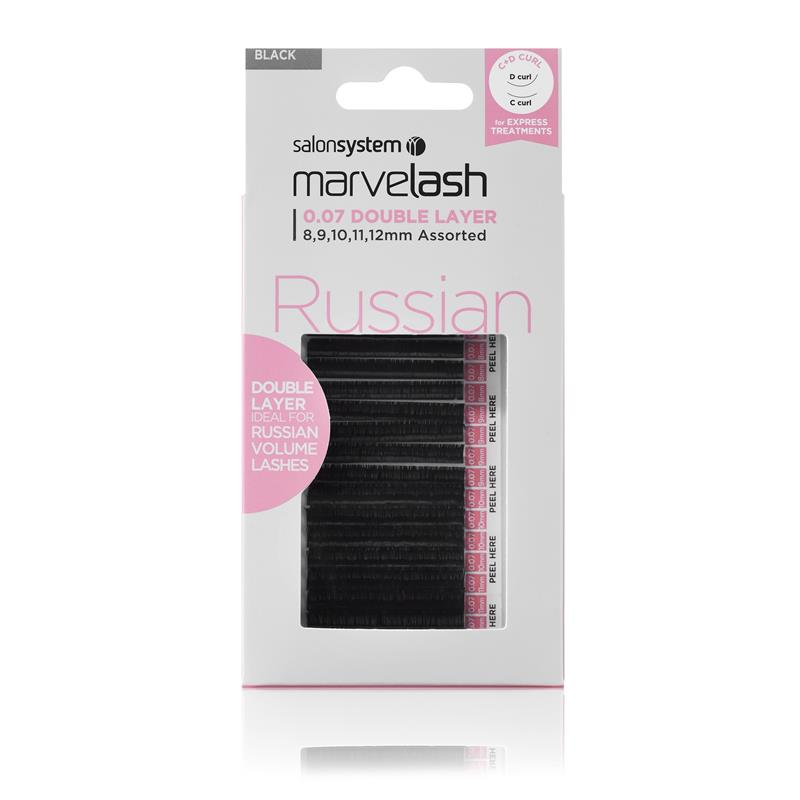 Russian Double Layer C & D Curl Lashes  Image 1