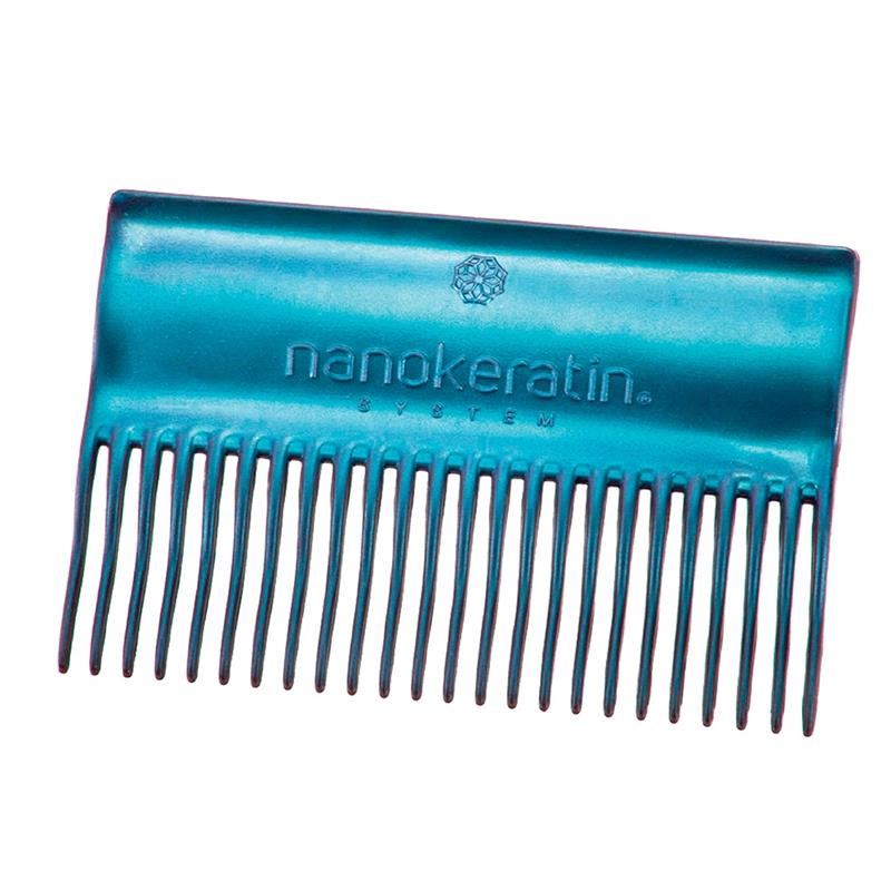 Nanokeratin System Treatment Comb Blue Image 1