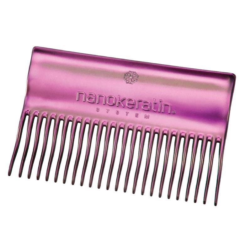 Nanokeratin System Treatment Comb Purple Image 1
