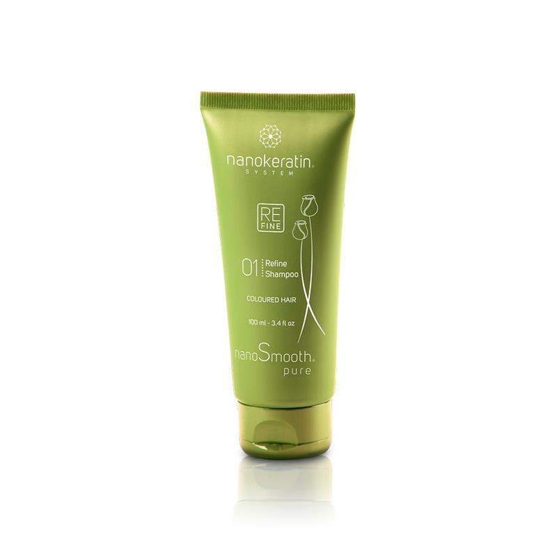 Nanokeratin System Refine Shampoo Colored Hair 100ml Image 1