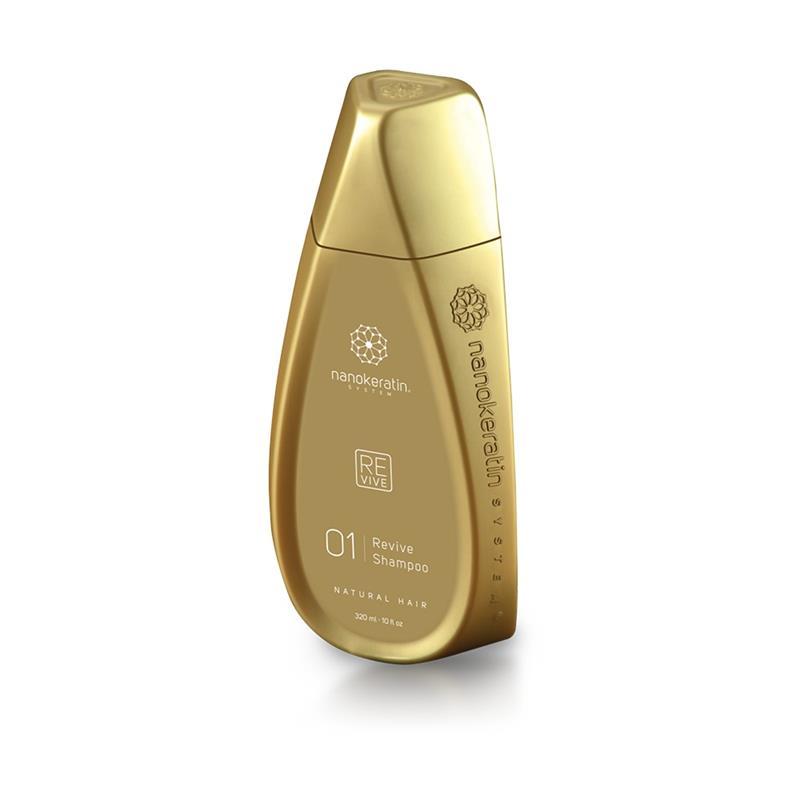 Nanokeratin System Revive Shampoo Natural Hair 320ml  Thumbnail Image 1
