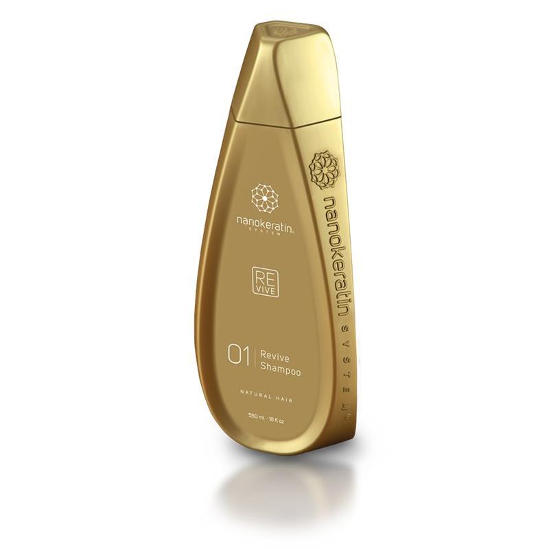 Nanokeratin System Revive Shampoo Natural Hair 550ml  Thumbnail Image 1