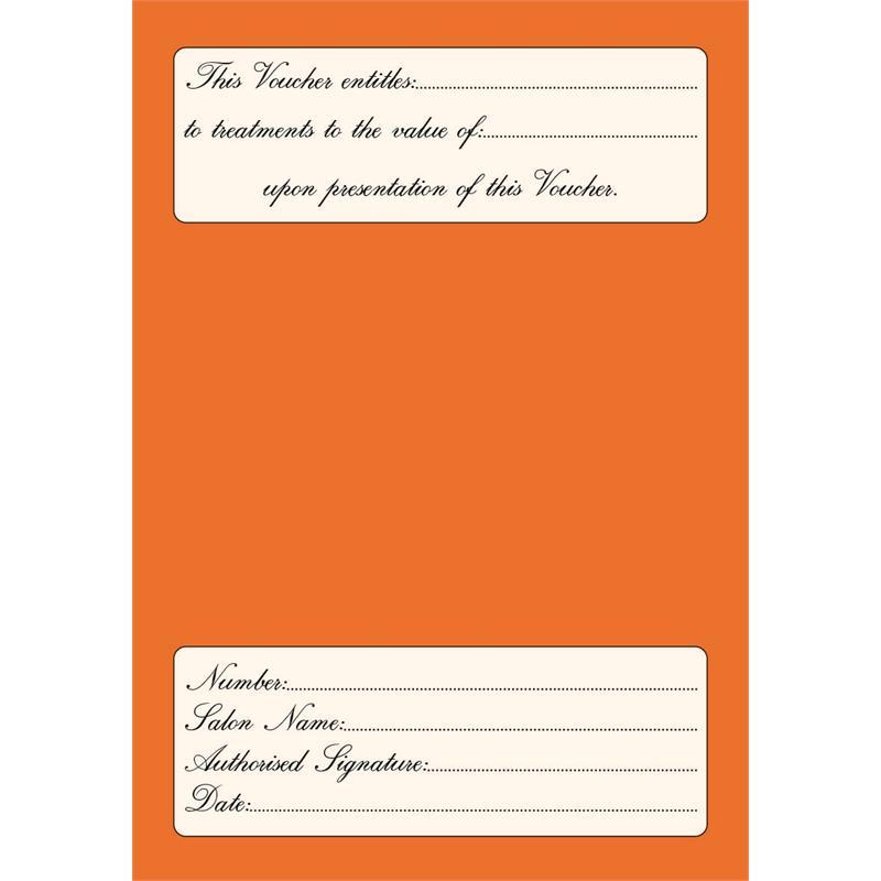 Gift Vouchers Orange Thumbnail Image 1