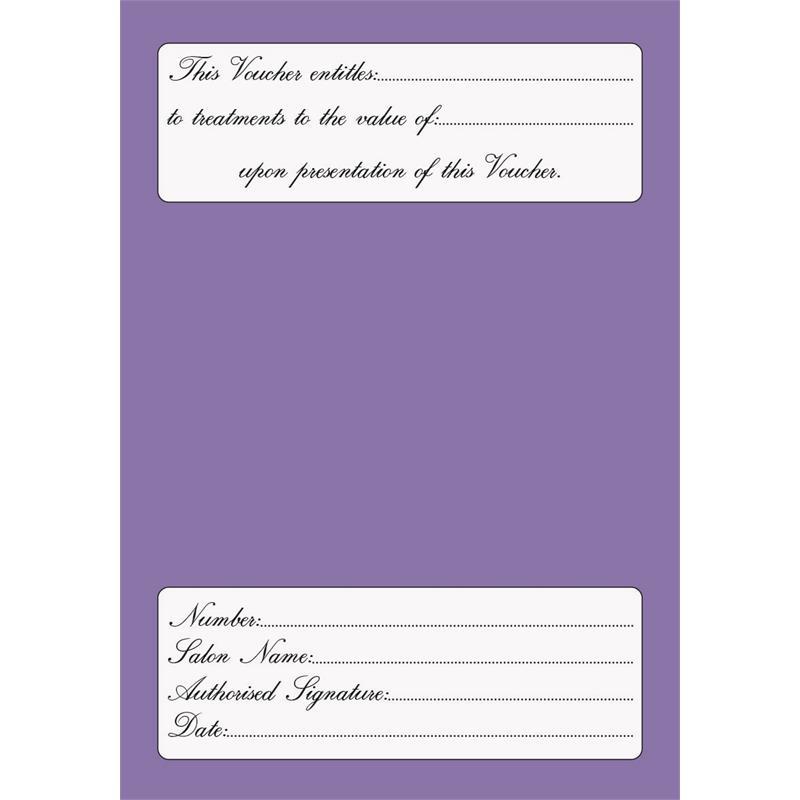 Gift Vouchers Lilac Thumbnail Image 1