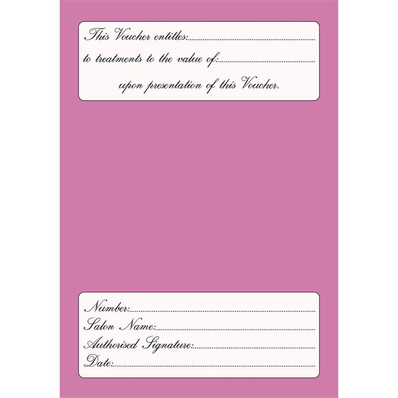 Gift Vouchers Pink Thumbnail Image 1