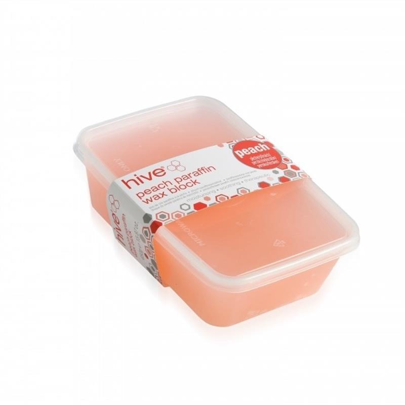 Peach Paraffin Wax 450g Block Image 1
