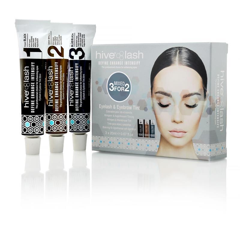 Eyelash & Eyebrow Tint 3 for 2 Pack Image 1