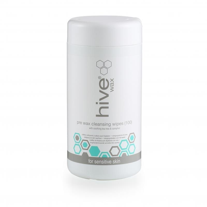 Hive Pre Wax Cleansing Wipes 100pk Image 1