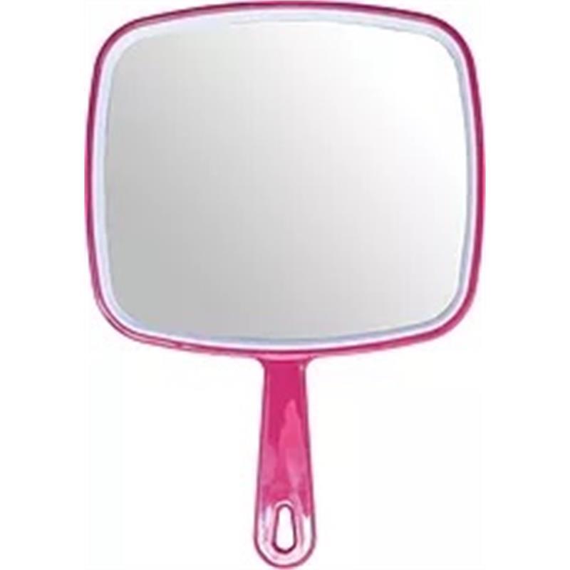 Hand Mirror Fuschia Image 1