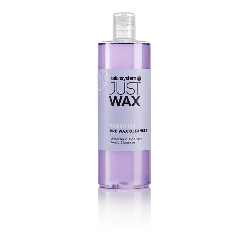 Just Wax Sensitive Pre-Wax Cleanser 500ml Image 1