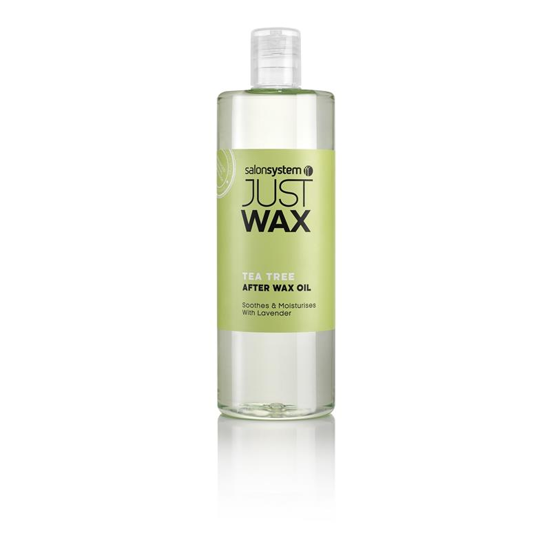 Just Wax tea Tree After Wax Oil 500ml Image 1
