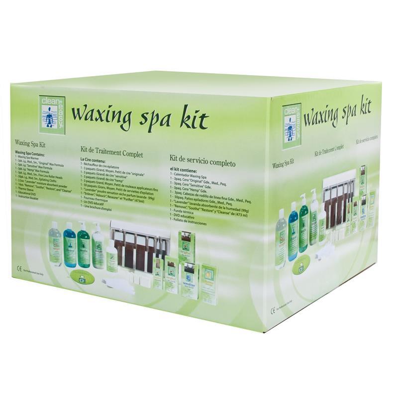 Clean & Easy Waxing Spa Kit Thumbnail Image 1