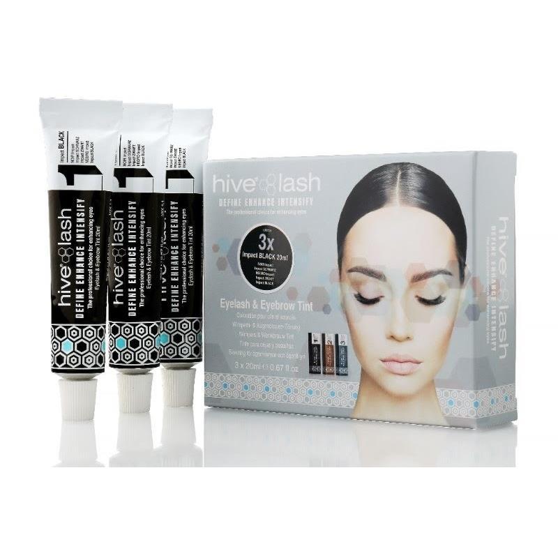 Hive Lash Tint Black Triple Pack Image 1
