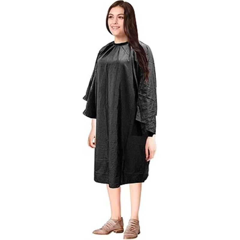 Gown with Sleeves/Tie Neck Image 1