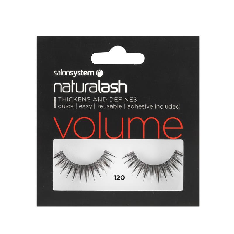 Naturalash 120 Black Lashes Thumbnail Image 0