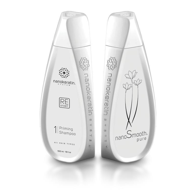 Nanokeratin System Restart Shampoo All Hair Types 550ml Thumbnail Image 0