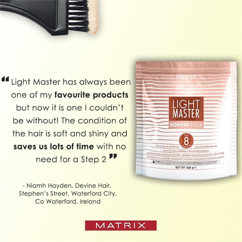 Light Master level 8 lightening powder with bonder inside 500g Thumbnail Image 3