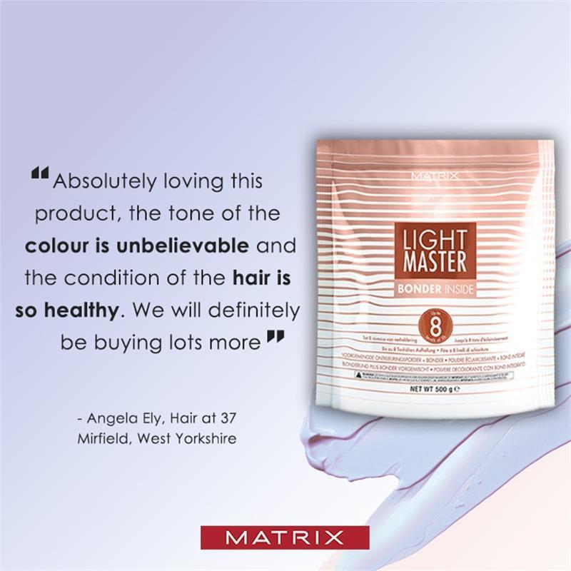 Light Master level 8 lightening powder with bonder inside 500g Thumbnail Image 4