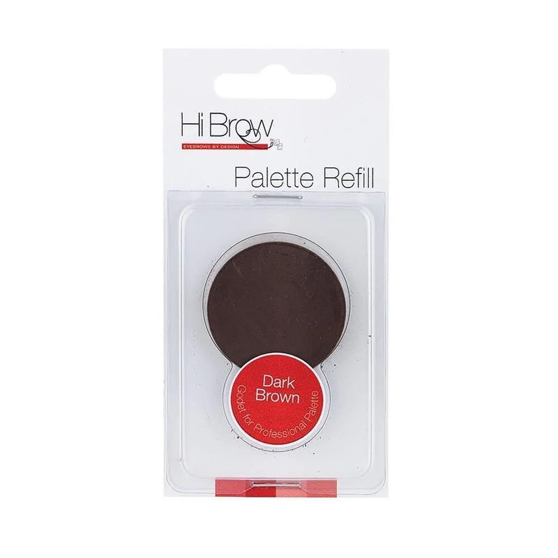 Brow Powder Palette Refill-Dark Brown Image 1